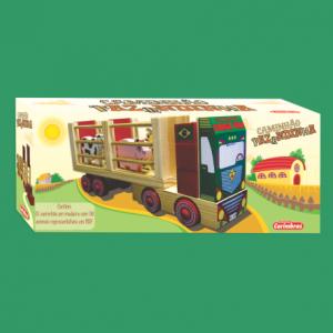 caminhão fazendinha carimbras