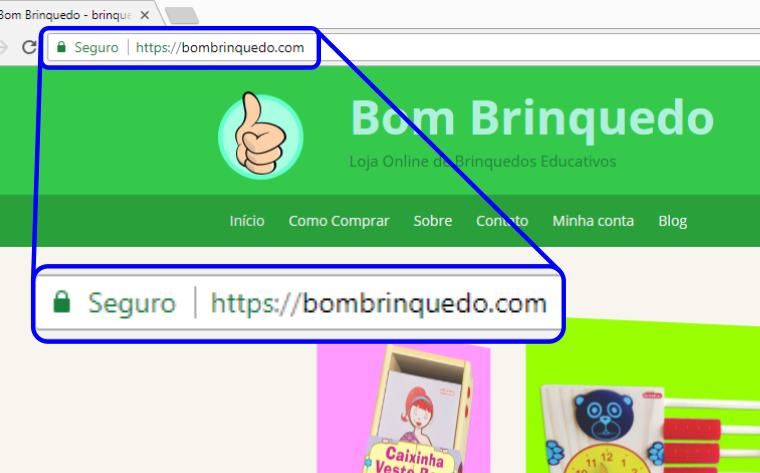 Site Seguro – suas informações protegidas.