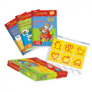 mini criativo luk bambino luk brinquedo educativo carimbras