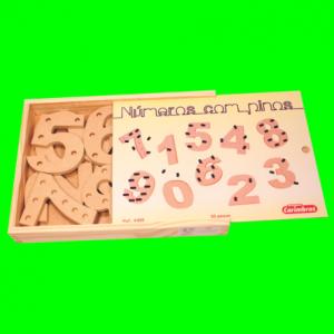 Números com Pinos Carimbras - caixa