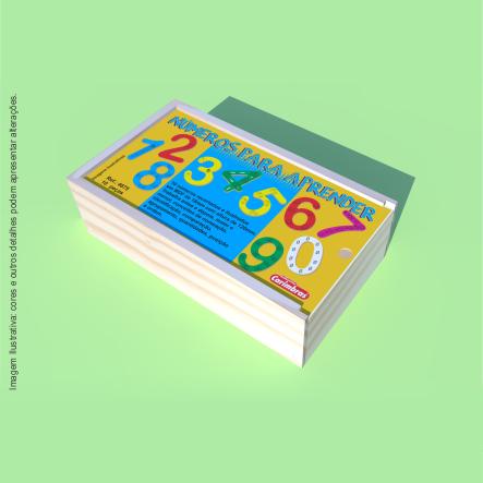 Números para Aprender Carimbras - caixa