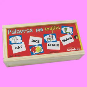 Palavras em Inglês Carimbras - caixa