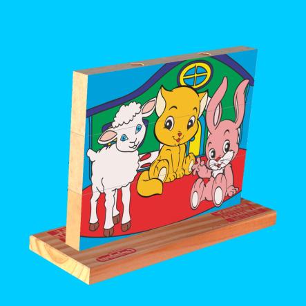puzzle animais carimbras