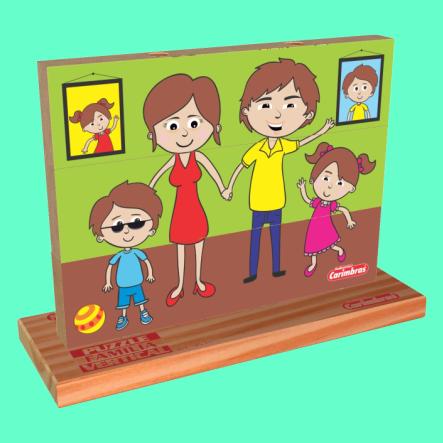 puzzle familia carimbras