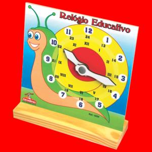 relógio educativo carimbras