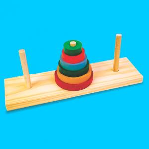 torre de hanói carimbras