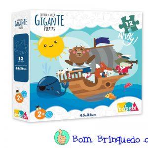 quebra-cabeça gigante piratas babebi