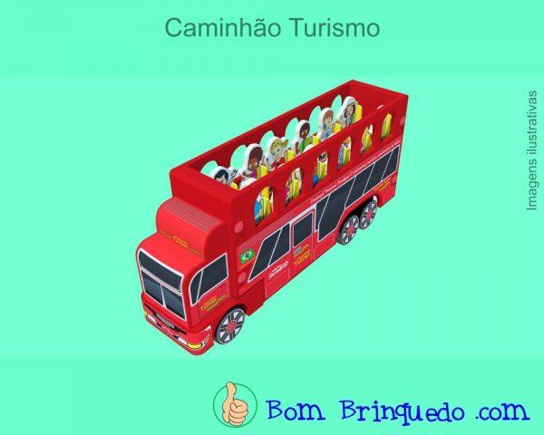 caminhão turismo carimbras - bom brinquedo