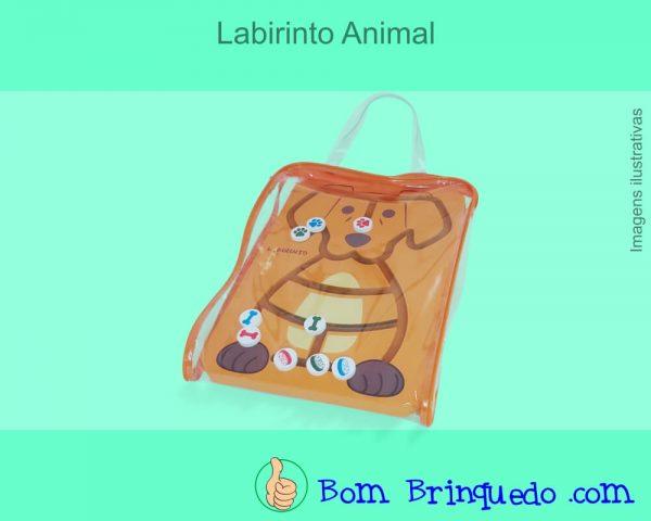 labirinto animal carimbras bom brinquedo
