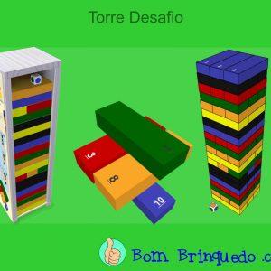 torre desafio carimbras bom brinquedo