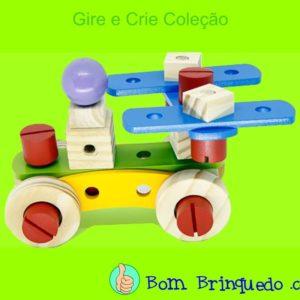 gire e crie coleção newart bom brinquedo