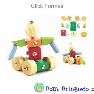 click formas new art bom brinquedo